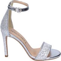 Sapatos Mulher Sandálias Olga Rubini BJ401 Prata