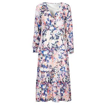 Textil Mulher Vestidos compridos Only ONLZOE Branco / Multicolor
