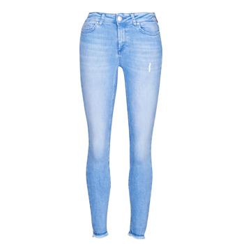 Textil Mulher Calças de ganga slim Only ONLBLUSH Azul / Claro