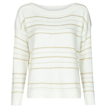 Textil Mulher camisolas Only ONLNEW CARILEE Branco