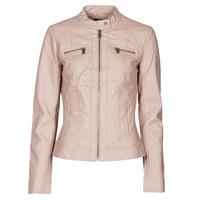 Textil Mulher Casacos de couro/imitação couro Only ONLBANDIT Rosa