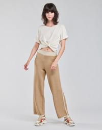 Textil Mulher Calças curtas Only ONLLILA Bege