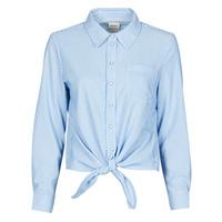 Textil Mulher camisas Only ONLLECEY Azul