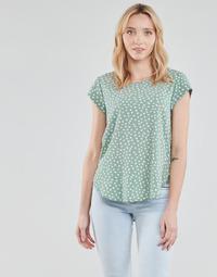 Textil Mulher Tops / Blusas Only ONLVIC Verde / Branco