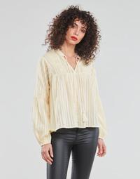 Textil Mulher Tops / Blusas Only ONLNEW ELISA Bege