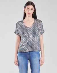 Textil Mulher Tops / Blusas Only ONLMADDI Marinho