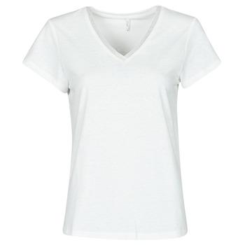 Textil Mulher Tops / Blusas Only ONLZENNA Branco