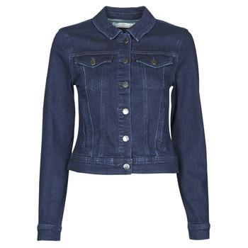 Textil Mulher casacos de ganga JDY JDYNEWWINNER STR JACKET BOX DNM NOOS Azul