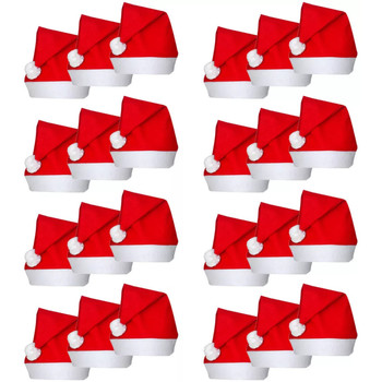 Casa Decorações festivas VidaXL Chapéu Vermelho