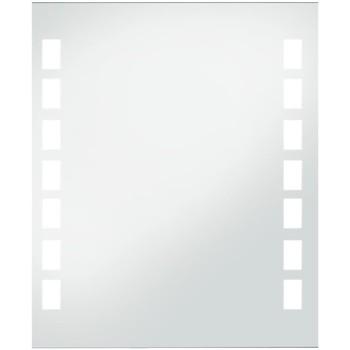 Casa Espelhos VidaXL Espelho LED 50 x 60 cm Prateado