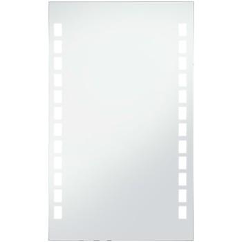Casa Espelhos VidaXL Espelho LED 60 x 100 cm Prateado