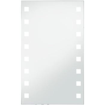 Casa Espelhos VidaXL Espelho LED 60 x100 cm Prateado