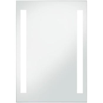 Casa Espelhos VidaXL Espelho LED 60 x 80 cm Prateado