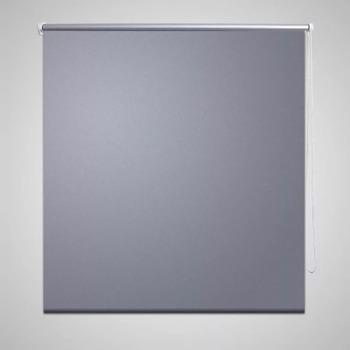 Casa Cortinados VidaXL Estore de rolo 120 x 230 cm Cinzeto