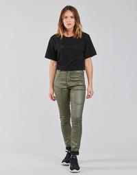 Textil Mulher Calça com bolsos G-Star Raw HIGH G-SHAPE CARGO SKINNY PANT WMN Cáqui