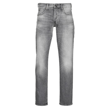 Textil Homem Calças Jeans G-Star Raw 3301 STRAIGHT Cinza
