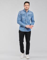 Textil Homem Chinos G-Star Raw VETAR SLIM CHIN Preto