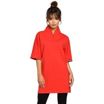 Textil Mulher Túnicas Be B043 Túnica de quimono - vermelha