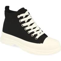 Sapatos Mulher Sapatilhas de cano-alto Benini 21001 Negro