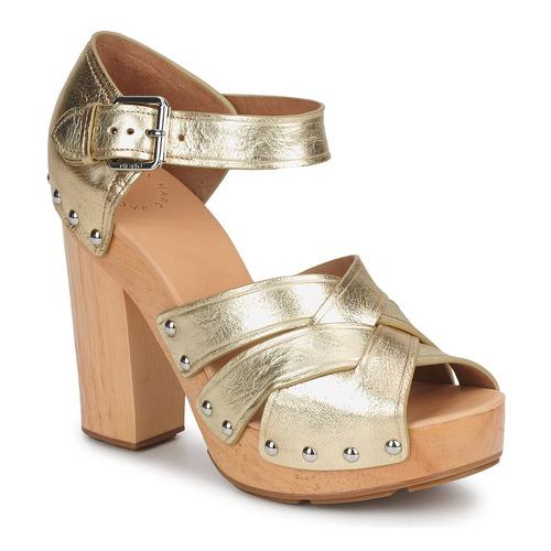 Sapatos Mulher Sandálias Marc by Marc Jacobs VENTA Dourado