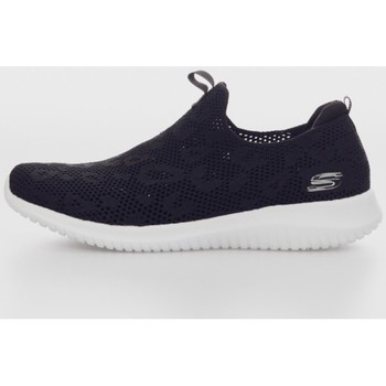 Sapatos Homem Slip on Skechers ULTRA FLEX Negro