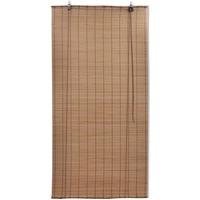 Casa Cortinados VidaXL Estore de bambu 120 x 220 cm Marrom