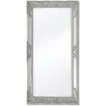 Casa Espelhos VidaXL Espelho 100 x 50 cm Prateado