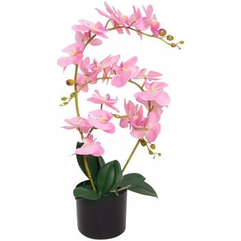 Casa Plantas e Flores Artificiais  VidaXL Planta artificial 65 cm Cor-de-rosa
