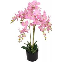 Casa Plantas e Flores Artificiais  VidaXL Planta artificial 75 cm Cor-de-rosa