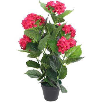 Casa Plantas e Flores Artificiais  VidaXL Planta artificial Vermelho