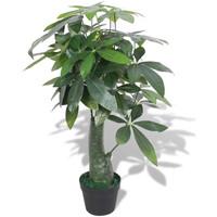 Casa Plantas e Flores Artificiais  VidaXL Planta artificial 85 cm Verde