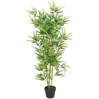Casa Plantas e Flores Artificiais  VidaXL Planta artificial 120 cm Verde
