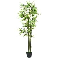 Casa Plantas e Flores Artificiais  VidaXL Planta artificial 150 cm Verde