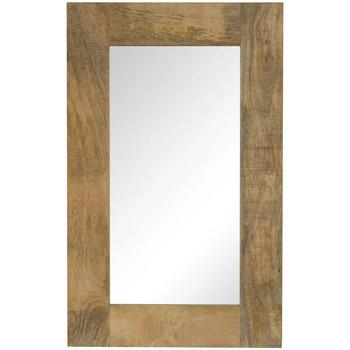 Casa Espelhos VidaXL Espelho 50 x 80 cm Marrom