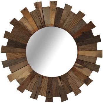 Casa Espelhos VidaXL Espelho de parede Marrom