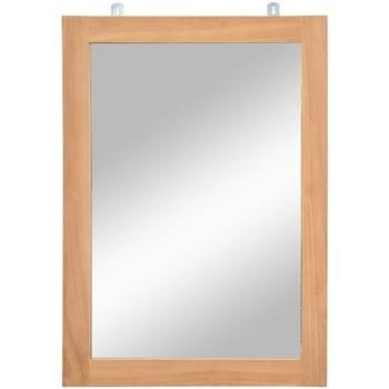 Casa Espelhos VidaXL Espelho Marrom