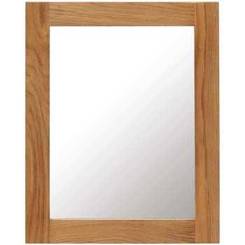 Casa Espelhos VidaXL Espelho 40 x 50 cm Marrom
