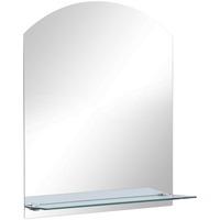 Casa Espelhos VidaXL Espelho de parede 30 x 50 cm Prateado