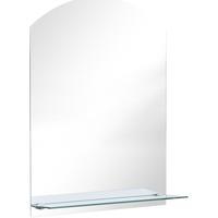 Casa Espelhos VidaXL Espelho de parede 50 x 70 cm Prateado