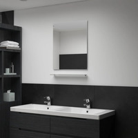 Casa Espelhos VidaXL Espelho de parede 50 x 60 cm (1 étagère) Prateado