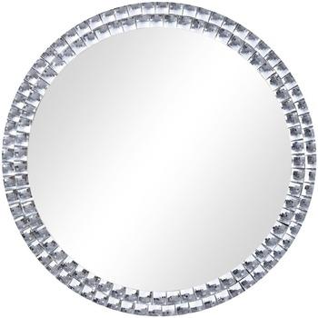 Casa Espelhos VidaXL Espelho de parede 50 cm Prateado