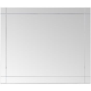 Casa Espelhos VidaXL Espelho 80 x 60 cm Prateado