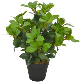 Casa Plantas e Flores Artificiais  VidaXL Planta artificial 40 cm Verde