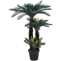 Casa Plantas e Flores Artificiais  VidaXL Planta artificial 125 cm Verde