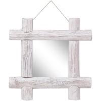 Casa Espelhos VidaXL Espelho 50 x 5 x 50 cm Branco