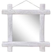 Casa Espelhos VidaXL Espelho 70 x 5 x 70 cm Branco