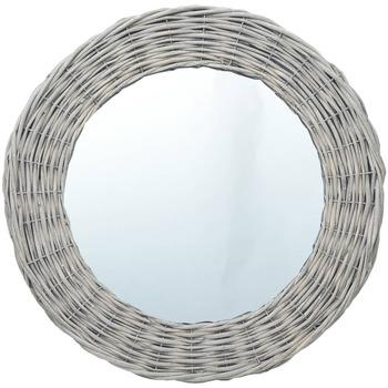 Casa Espelhos VidaXL Espelho 70 cm Marrom