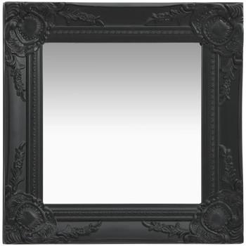 Casa Espelhos VidaXL Espelho 40 x 40 cm Preto
