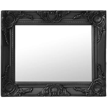 Casa Espelhos VidaXL Espelho 50 x 40 cm Preto