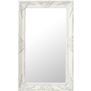Casa Espelhos VidaXL Espelho 50 x 80 cm Branco